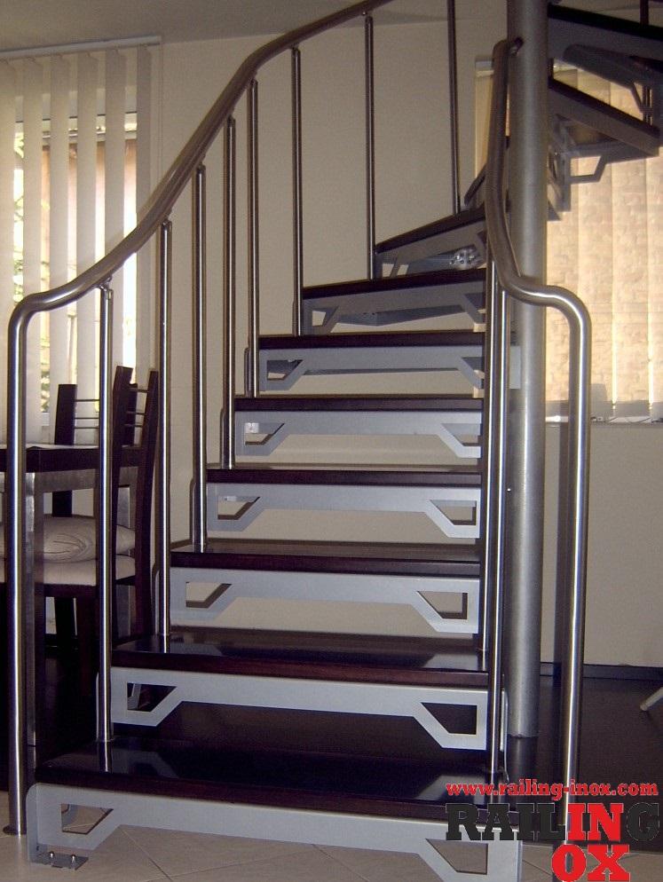 Прави и вити стълби