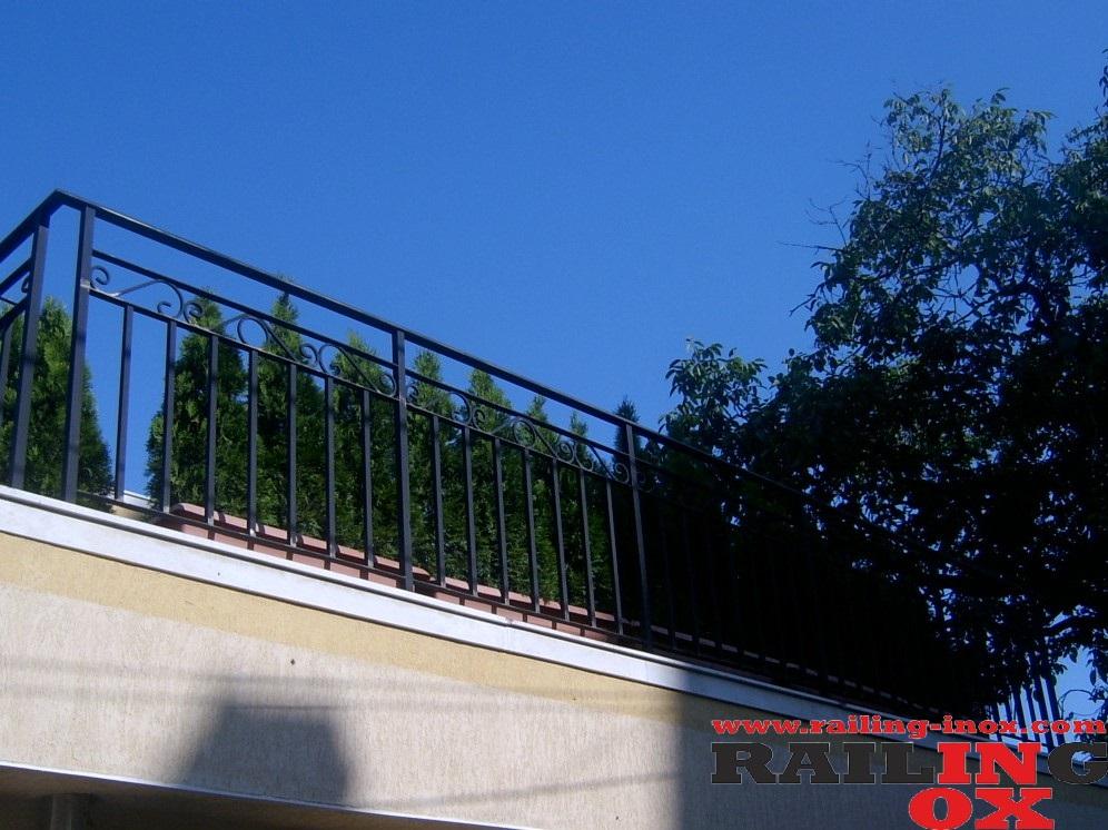 Geländer aus Eisenmetalle