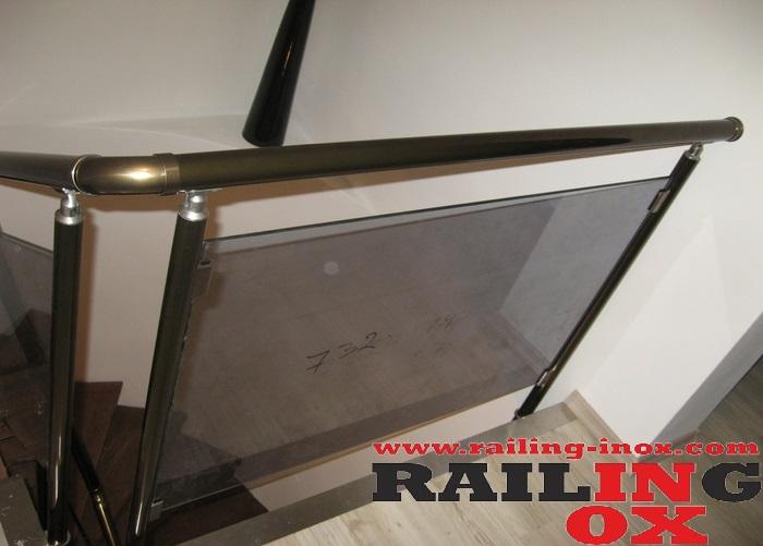 Geländer aus Aluminium