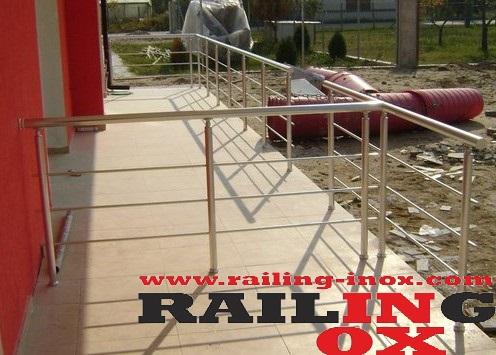 RAILINGS FROM ALUMINUM