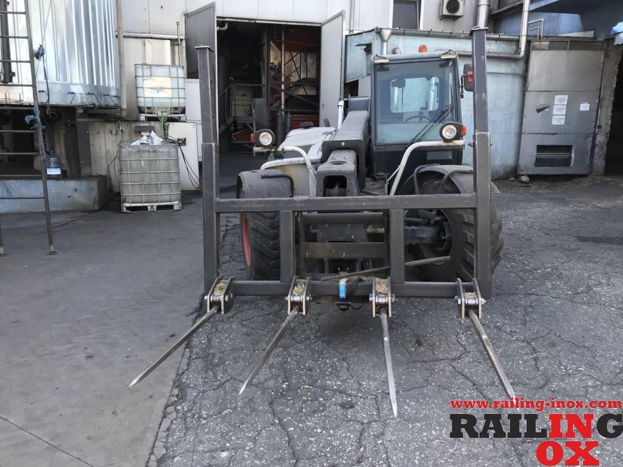 Angehängtes Inventar für schwere Mechanisation